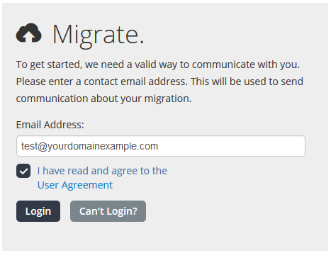 Migrate your email by using the Self-Service Migration Tool