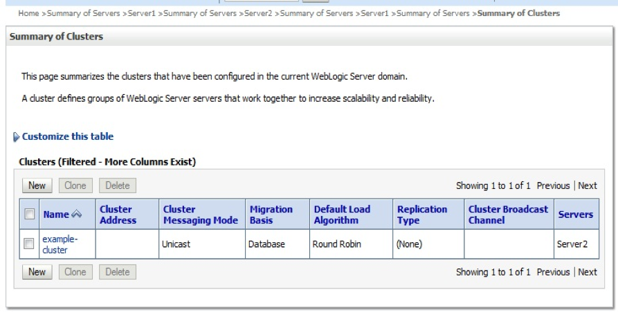 Oracle v12c Weblogic features and changes
