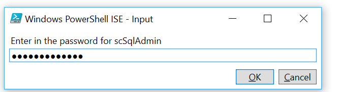 Exporting an Azure SQL DB via PowerShell