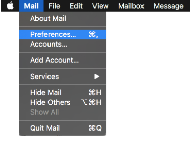 Synchronize IMAP folders for new accounts in Apple Mail