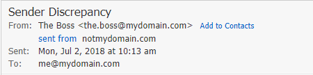 screenshot of webmail suspicious email3